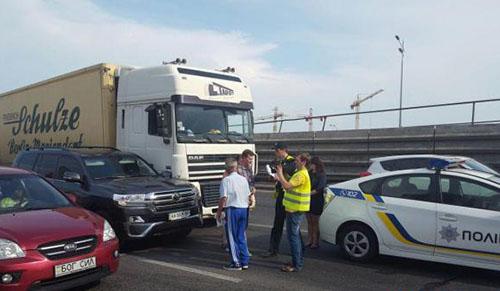 Бывший мэр Киева Александр Омельченко в 5 раз попал в ДТП. Фото